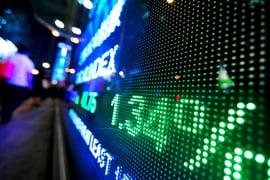 stock market price display-1