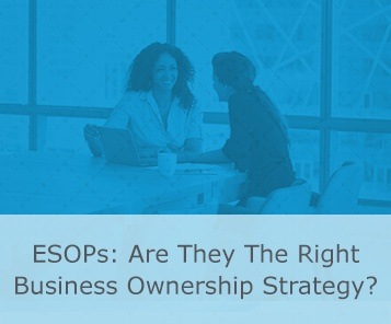 are esops right ownership strategy